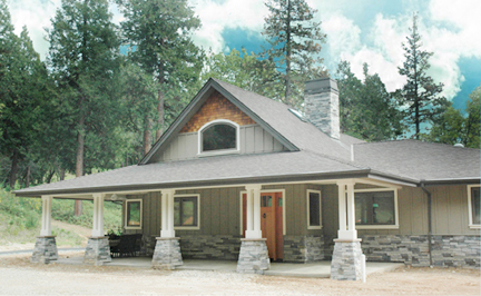 Nevada City home being constructed