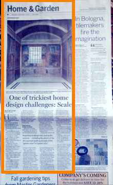 my articles are featured in the Home & Garden section of The Union newspaper